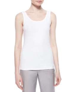 Nic+Zoe  - Perfect Jersey Scoop-Neck Tank