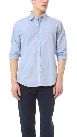 Glanshirt  - Kent Mini Grid Shirt