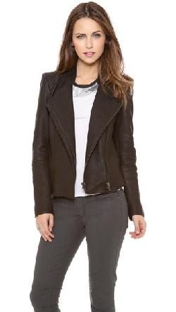 Helmut Lang  - Wither Leather Jacket