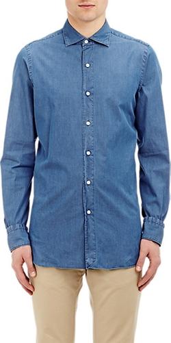 Finamore - Chambray Shirt