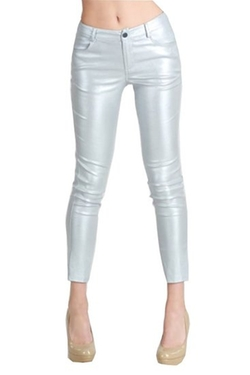 Niki Biki  - Brushed Metallic Trousers