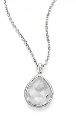 Ippolita  - Rock Candy Clear Quartz Pendant Necklace