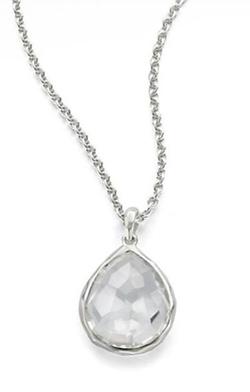 Ippolita  - Rock Candy Clear Quartz Pendant Necklace