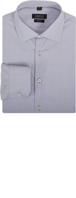Barneys New York  - End-On-End Cotton Dress Shirt