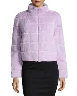 Gorski  - Mink Fur Zip Jacket