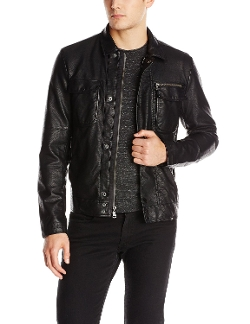 Calvin Klein Jeans - Faux-Leather Moto Jacket