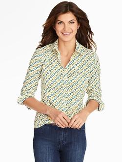 Talbots - Buckle Print Shirt