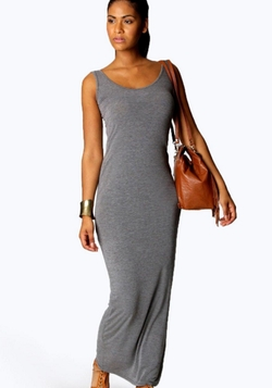 Boohoo Basics  - Sandy Maxi Dress