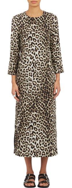 Rag & Bone - Leopard-Print Midi Dress