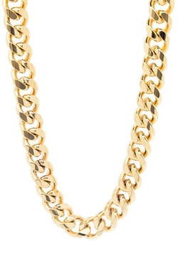 Mister  - The Curve Curb Necklace