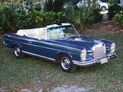 Mercedes Benz  - 1967 250SE Convertible