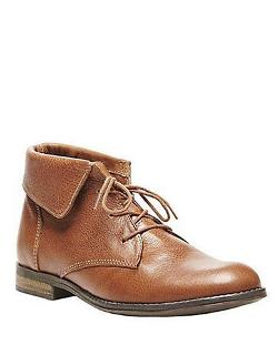 STEVE MADDEN  - Stringrei Leather Ankle Boots
