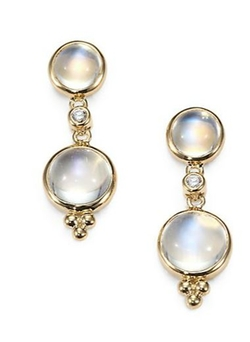 Temple St. Clair - Double-Drop Earrings