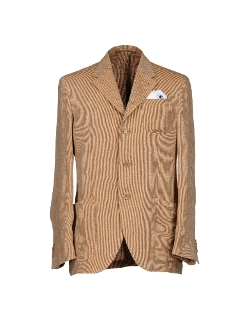 Cantarelli  - Tweed Lapel Collar Blazer