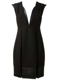 Christopher Kane  - Plunging Neckline Dress