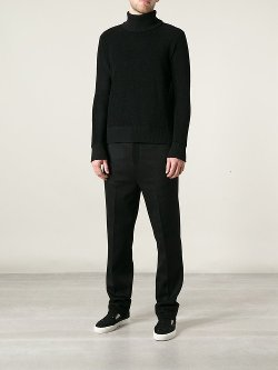 Mic Eaton  - Turtle Neck Knit Sweater
