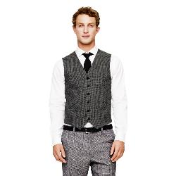 CLUB MONACO - Wool Houndstooth Waistcoat