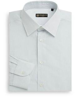 Corneliani - Fine Striped Cotton Dress Shirt