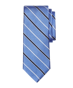 Brooks Brothers - Satin Alternating Bar Stripe Tie