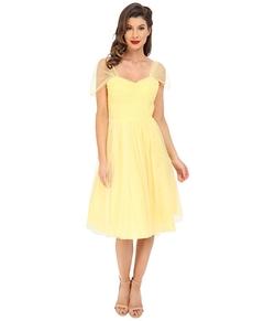 Unique Vintage  - Chiffon Garden State Party Dress