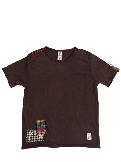 Bob  - Embroidered Stone Washed Jersey T-shirt