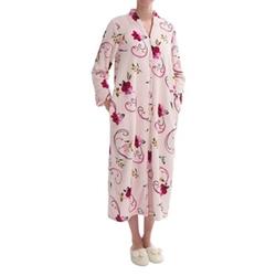 KayAnna  - Plush Floral Print Robe