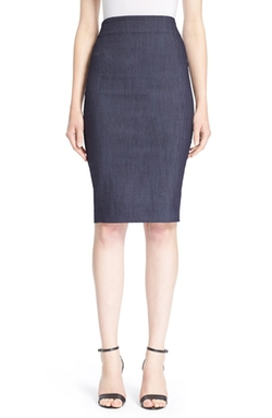 Elizabeth and James  - Aisling Indigo Denim Pencil Skirt