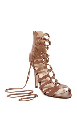 Chase & Chloe  - Edward High Heel Gladiator Sandals