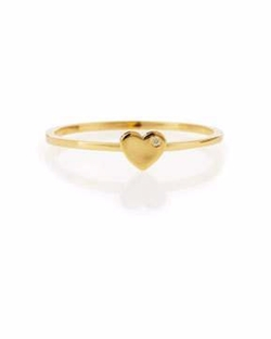 Shy by Se Bezel  - Diamond Heart Ring