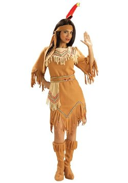 HalloweenCostumes - American Indian Maiden Costume