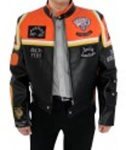 Desert Leather - Harley Davidson and Marlboro Man Leather Jacket