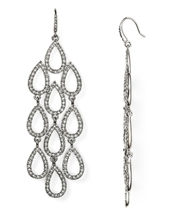 Allen Schwartz - Pave Beach Chandelier Earrings