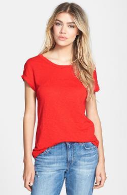 Stateside  - Slub Knit Supima Cotton T Shirt