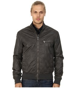John Varvatos Star U.S.A.  - Lightweight Trimmed Bomber Jacket
