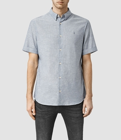 All Saints - Estero Short Sleeve Shirt