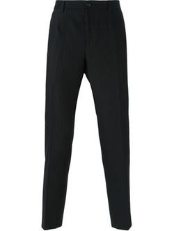 Dolce & Gabbana   - Herringbone Stripe Trousers