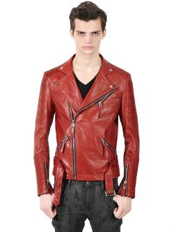 Christophe Terzian  - Biker Leather Jacket