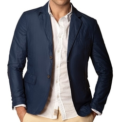 J.A.C.H.S.  - Waxed Two-Button Blazer