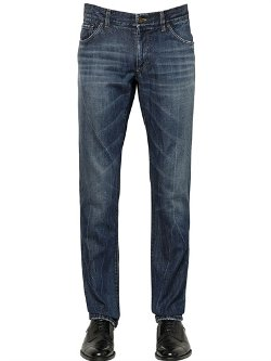 Dolce & Gabbana  - Washed Soft Denim Jeans