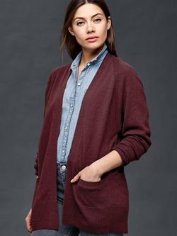Gap - Wool/Cashmere Open Cardigan