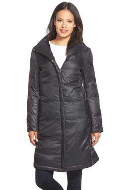 Eileen Fisher - Stand Collar Down Puffer Jacket