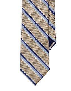 Black Brown 1826  - Striped Tie