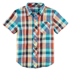 Arizona  - Short-Sleeve Plaid Shirt