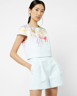 Ted Baker London - Hanging Gardens Layered Romper