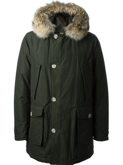 Woolrich - Fur Detail Padded Coat