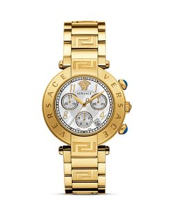 Versace  - Chronograph Stainless Steel Watch