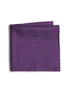 Saks Fifth Avenue Collection  - Herringbone Pocket Square