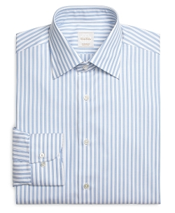 Brooks Brothers - Stripe Luxury Dress Shirt