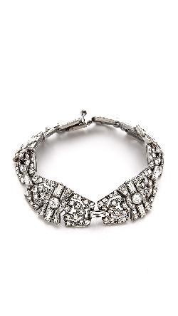 Ben-Amun  - Crystal Statement Bracelet
