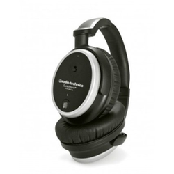 Audio-Technica - Noise-Cancelling Closed-Back Headphones